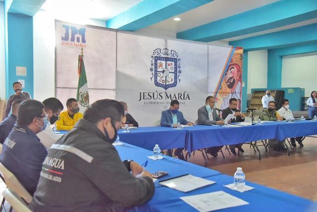 ¡Presentan en Jesús María el programa especial de temporada de lluvias 2020!
