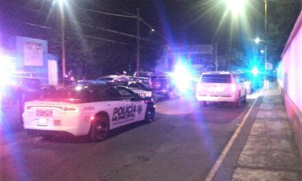 ¡Policías municipales detienen a presuntos sicarios en la colonia San Pablo en Aguascalientes!