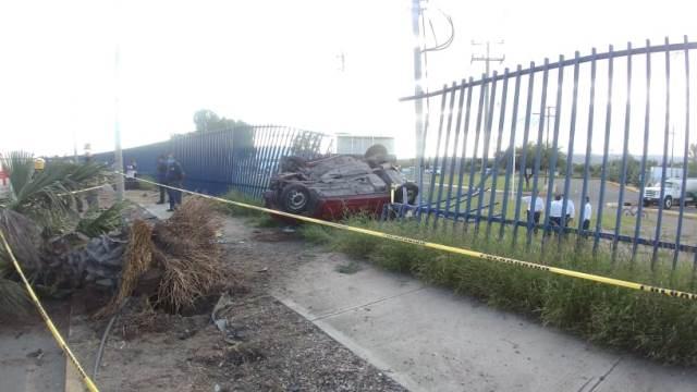 ¡2 muertos tras fuerte accidente automovilístico en Aguascalientes!