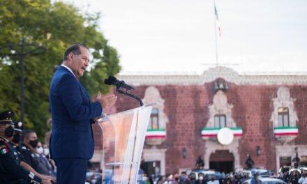 ¡A cerrar filas con todas las corporaciones para continuar siendo uno de los Estados más seguros de México: MOS!