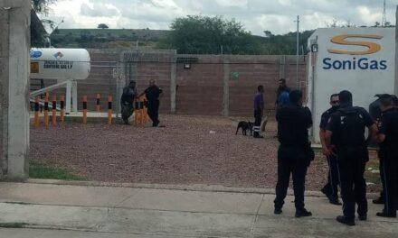 ¡Dos sujetos asaltaron la empresa Sonigas en Aguascalientes y lograron jugoso botín!