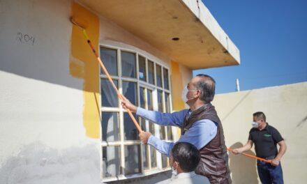 ¡Con programa para mejorar el entorno se busca dignificar a comunidades del Estado!