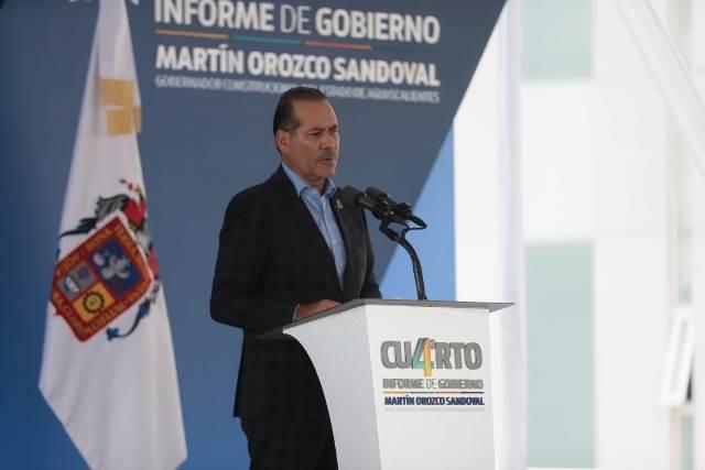 ¡Destaca Martín Orozco en su 4to. informe de gobierno el sistema de salud fuerte, comprometido y profesional de Aguascalientes!