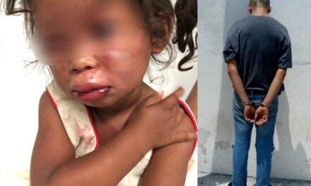 ¡Encarcelaron al sujeto que golpeó brutalmente a una niña de 2 años de edad en Aguascalientes!