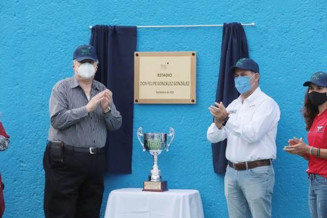 ¡Devela MOS placa en honor a Felipe González González!