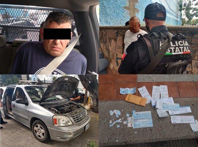 ¡2 delincuentes originarios de Jalisco fueron detenidos en Aguascalientes tras cometer varios robos!