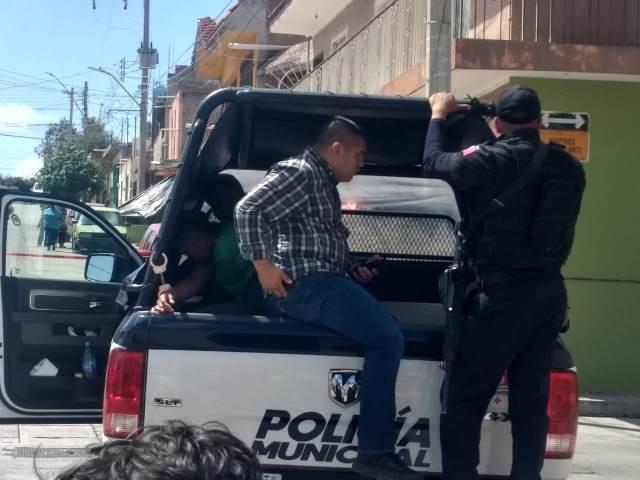 ¡Delincuentes realizaron disparos en la vía pública en Las Cumbres en Aguascalientes!