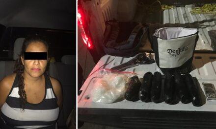 """¡Distribuidora de droga del Cártel de Sinaloa fue detenida con 3.790 kilos de """"crystal"""" en Aguascalientes!"""