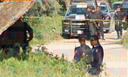 ¡Hallaron a un hombre ejecutado decapitado y putrefacto cerca de un campo de beisbol en Lagos de Moreno!