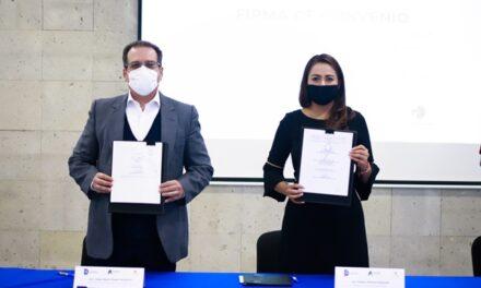 ¡Firma Tere Jiménez convenio de educación ambiental con el Instituto Tecnológico de Aguascalientes!