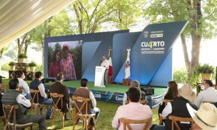 ¡Hoy más que nunca, Aguascalientes con un campo fuerte, próspero y diversificado: Martín Orozco!