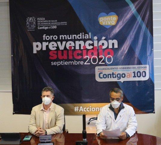 ¡La salud mental es prioridad, más aún durante la pandemia: ISSEA!