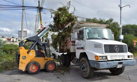 ¡Lleva Municipio mega operativo de limpieza a Villas de Nuestra Señora de la Asunción!