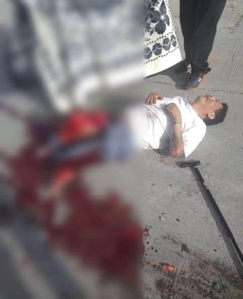 ¡Hombre murió atropellado por un camión repartidor de gas en Aguascalientes!