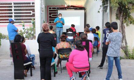 ¡Municipio imparte pláticas de prevención de adicciones en Guadalupe Peralta!