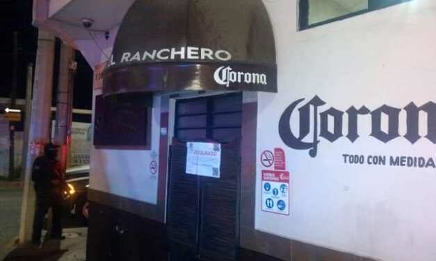 """¡Autoridades federales, otra vez, catearon y clausuraron el bar """"El Ranchero"""" en Aguascalientes!"""