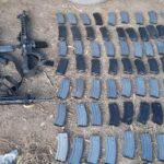 ¡PEP aseguró armamento, vehículos y probable droga en Fresnillo!