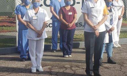 ¡Sin mortalidad hasta el momento de enfermos de COVID en el Hospital Militar: Gabriela Alhelí Guillén Hernández!