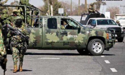 ¡Ataque armado en Nochistlán dejó a tres miliares heridos!