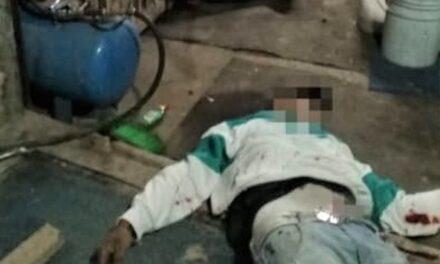 ¡Con el tiro de gracia ejecutaron a un hombre en una vulcanizadora en Ojocaliente!