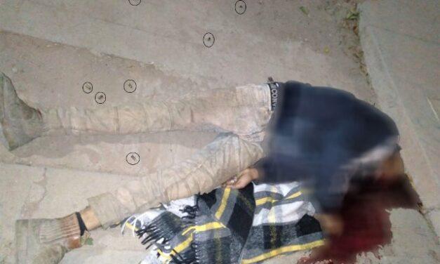 """¡Identificaron al joven ejecutado en Calera: lo conocían como """"El Pantera""""!"""