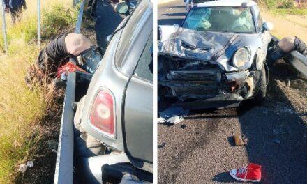 ¡1 muerto y 2 lesionados tras espantoso accidente en Aguascalientes!