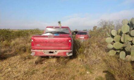 ¡Eran de Zacatecas ejecutados hallados en dos camionetas en San Luis Potosí!