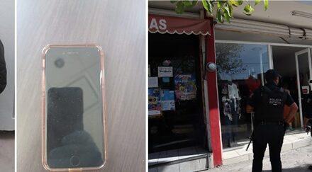¡Detuvieron a 2 delincuentes que pistola en mano asaltaron una boutique en Aguascalientes!