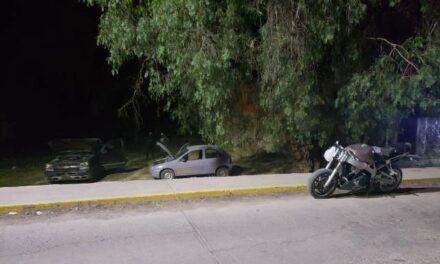 ¡Aseguró SSP vehículos, armamento y droga en Cuauhtémoc!