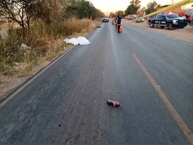 ¡Adulto mayor murió tras ser atropellado por una camioneta en Aguascalientes!