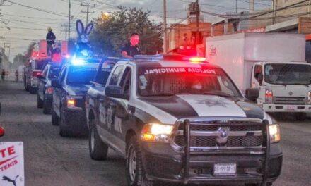 ¡Buscan prevenir delitos como extorsiones y secuestros en Jesús María con caravanas informativas!