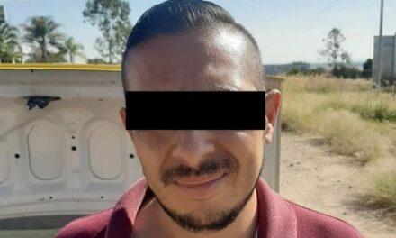 ¡Elementos de la SSPE de Aguascalientes detuvieron a ex policía por desaparición forzada de personas en Jalisco!