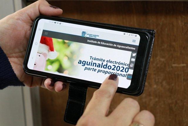 ¡Con servicio en línea IEA facilita trámite de reclamo de aguinaldo proporcional 2020 ante contingencia sanitaria!