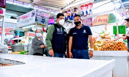 ¡Continúa el Municipio de Aguascalientes con la remodelación del Mercado Terán!