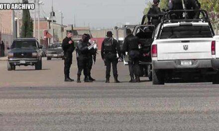 ¡Delincuentes balearon a agentes de la Policía de Investigación en Pánfilo Natera!