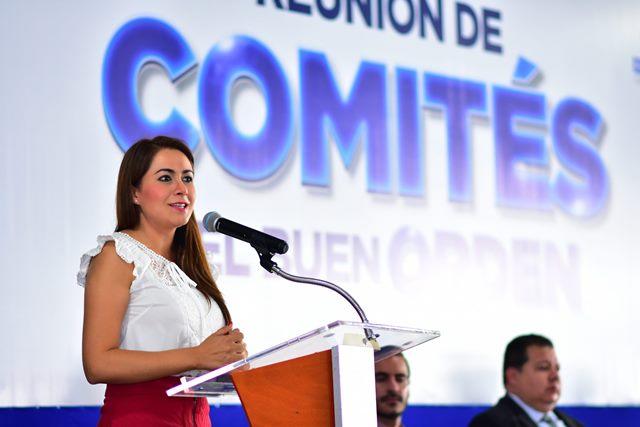 ¡En conjunto con los ciudadanos, Tere Jiménez hace de Aguascalientes una ciudad segura!