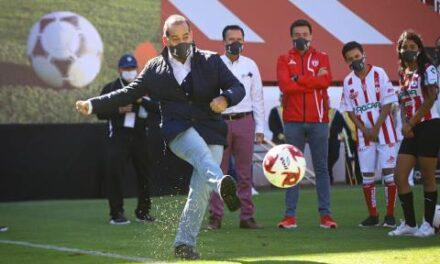 ¡En la búsqueda de talento deportivo arranca Copa Gobernador IDEA-Necaxa!