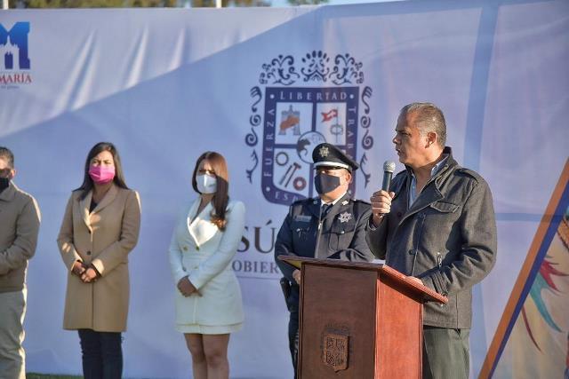 ¡Entrega Toño Arámbula nuevas unidades a Seguridad Pública con inversión superior a los 3.2mdp!