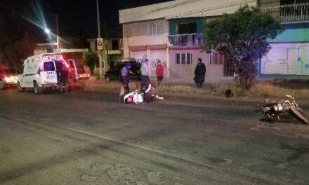 ¡Grave motociclista embestido por un tráiler en Aguascalientes!