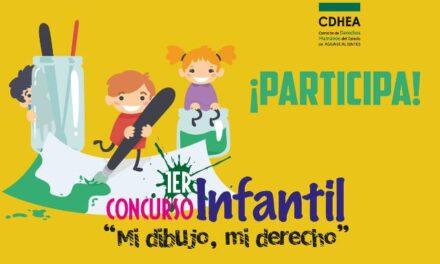 """¡Invita CDHEA a niñas y niños a participar en el primer concurso """"Mi dibujo, mi derecho""""!"""