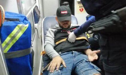 ¡Joven fue baleado por ver una riña callejera en Aguascalientes!