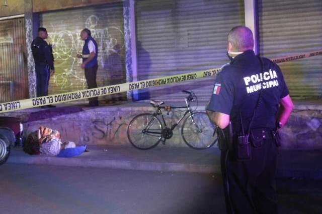 ¡Ancianito murió tras sufrir una caída de su bicicleta en Aguascalientes!