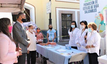 ¡Nutrida participación tuvo la Feria de la Salud en Jesús María!