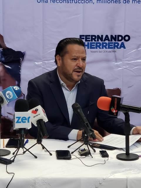 ¡PAN deberá elegir a los mejores candidatos para ganar a MORENA en próxima elección: Fernando Herrera Ávila!