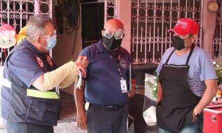 ¡Protección Civil Municipal continúa con el operativo tianguis seguro!