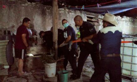 ¡Rescataron a un menor de edad que cayó a un pozo en Tepezalá, Aguascalientes!