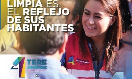 ¡Tere Jiménez fortalece servicio de limpia para cuidar el entorno y la salud de las familias!