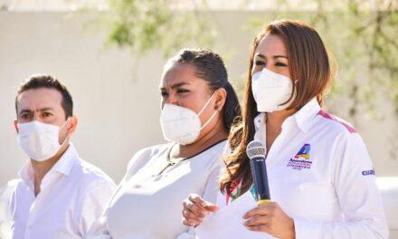 ¡Tere Jiménez pone en marcha nuevo pozo de agua potable para familias del poniente de la capital!