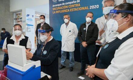 ¡Vacuna y medidas de prevención son el mejor escudo contra la influenza: Martín Orozco Sandoval!