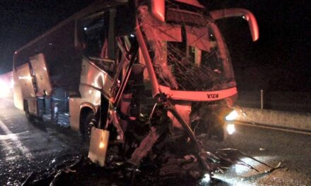 ¡Accidente de autobús de pasajeros en San Juan de los Lagos dejó 5 lesionados!
